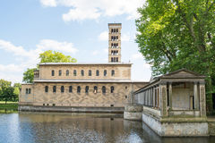 Church of Peace, Sanssouci Park in Potsdam, Germany Royalty Free Stock Image