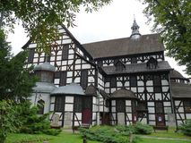 Church of Peace, Swidnica. Poland royalty free stock photos