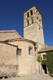 Church of Pedraza Stock Photo