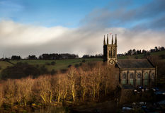 Church in Pennine England Stock Images