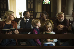 Church People Believe Faith Religious Stock Image