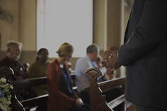 Church People Believe Faith Religious Concept Royalty Free Stock Photography
