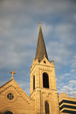Church in Peoria. Church in downtown of Peoria stock photos