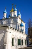 The Church of Peter and Paul on Soldier outside Moscow Stock Images