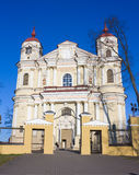 Church of Peter and Paul, Vilnius Stock Photography