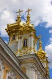 Church in peterhof palace Royalty Free Stock Photo