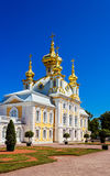 Church in peterhof palace Stock Photo