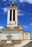 Church of Petit Canal in Guadeloupe Royalty Free Stock Images