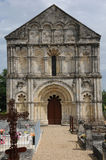 Church of Petit Palais et Cornemps in Gironde Royalty Free Stock Photo