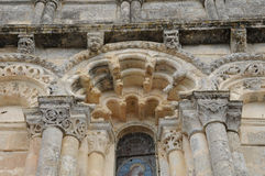 Church of Petit Palais et Cornemps in Gironde Royalty Free Stock Photos