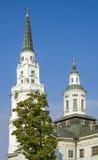 Church of Petropavlovsk in Riga, Latvia Royalty Free Stock Photo