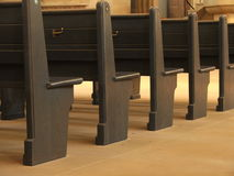 Church Pews 2 Stock Photography