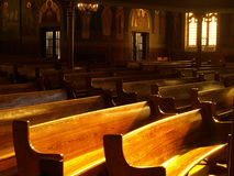 Free Church Pews Royalty Free Stock Image - 8778216