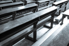 Church Pews Royalty Free Stock Images