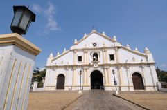 Church in Philippines Royalty Free Stock Images