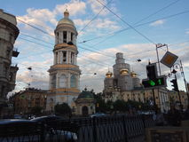 Church photo from sankt-peterburg Stock Image