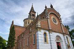 Church of Piacenza. Emilia-Romagna Royalty Free Stock Photography