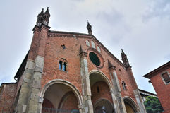 Church of Piacenza. Emilia-Romagna Royalty Free Stock Photos