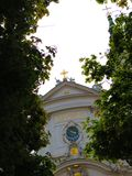 Church of the Piarist Order in Vienna Stock Images
