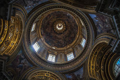Church at Piazza Navona, Rome. Stock Images