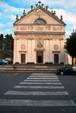 The Church of Pieve Alta Stock Photos