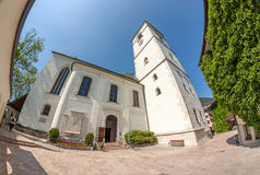 Church of pilgrimage of St. Wolfgang Stock Photo