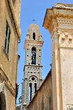 Church of Pina - Corsica Stock Image