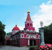 Church pink Stock Photography