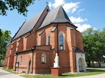 Church in Piotrawin, Poland Stock Image