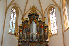 Church pipe organ Royalty Free Stock Photo