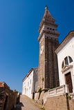 Church in Piran Royalty Free Stock Images
