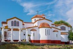 Church of Platamonas. Pieria, Macedonia, Greece Stock Photos