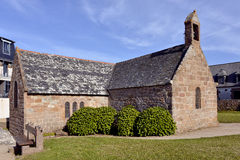 Church of Ploumanac'h in France Royalty Free Stock Photos