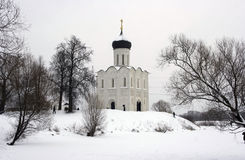 The Church Pokrova na Nerli Royalty Free Stock Photography