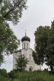 Church Pokrova na Nerli Royalty Free Stock Images