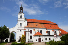 Church in Poland Royalty Free Stock Image