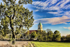 Church in Polish village Royalty Free Stock Photography