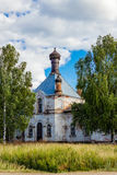 Church in polozovo Royalty Free Stock Photography