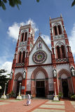 Church in Pondicherry, India Royalty Free Stock Image
