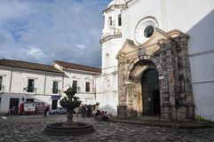 A Church in Popayan, Colombia Stock Image