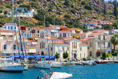 Church at Poros island - Greece Royalty Free Stock Photography
