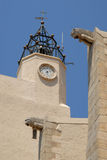 Church of port Grimaud in France Stock Photos