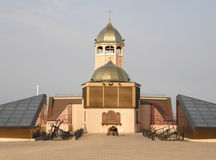 The church in the port. Odessa. Royalty Free Stock Photos