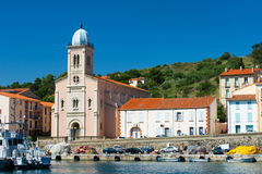 Church Port Vendres Stock Images