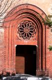 Church portal Royalty Free Stock Images