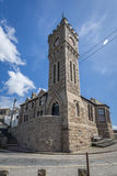 Church in porthleven harbour Royalty Free Stock Photography
