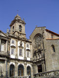 Church in Porto. Church and a museum in Porto, Portugal royalty free stock photos