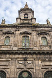 Church in Porto. Frontage of Church of Holy Trinity in Porto, Portugal Royalty Free Stock Photos