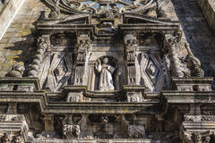 Church in Porto. Gothic style Saint Francis Church in Porto city, Portugal Royalty Free Stock Photography