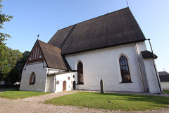 Church in Porvoo, Finland Royalty Free Stock Image